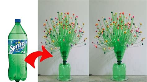 Ideas Using Plastic Bottles by Diy Flower Vase Using With Plastic Bottle Craft