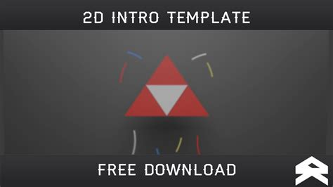 2d intro template 2d intro c4d ae template free