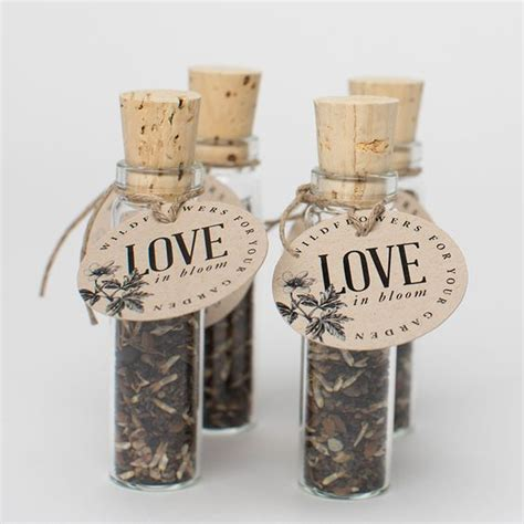 international convention gift idea wildflower seed favors