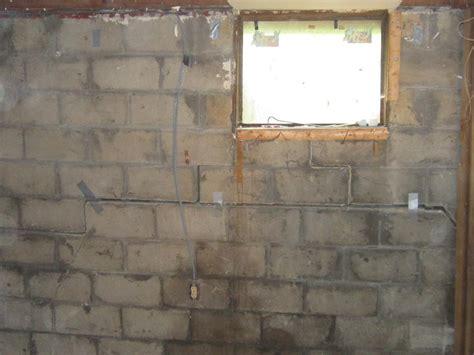 Goshen Ohio Severely Cracked Bowing Walls Leaky Basement