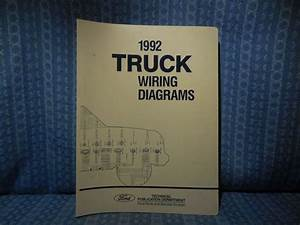 1992 Ford Truck Oem Wiring Diagrams F