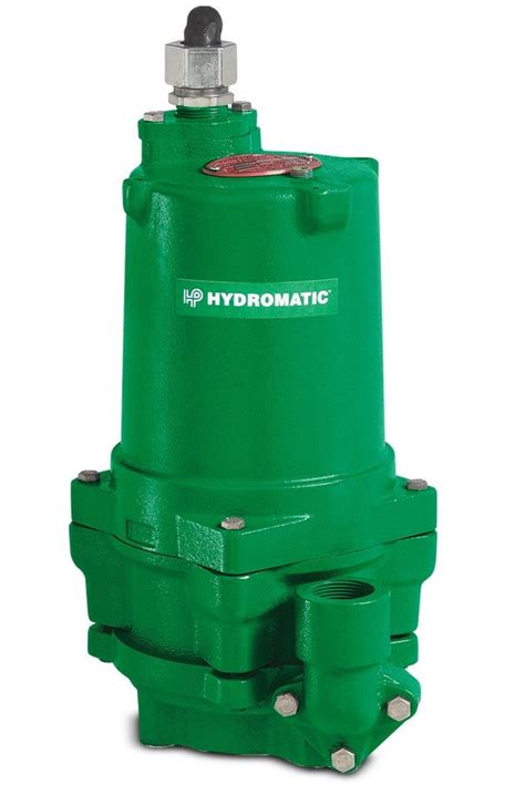 hydromatic hpg200m6 2 submersible sewage grinder 2 smith company inc