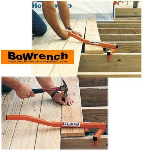 Deck Board Straightener Menards dealmonger bowrench decking tool for 39 toolmonger