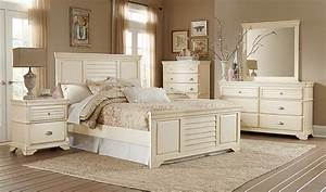 Homelegance Laurinda Bedroom Set - Antique White 1846 ...