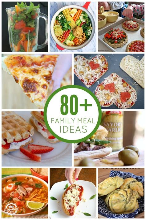 family meal ideas 80 delicious family meal ideas