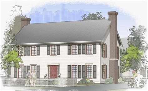 barn house plans classic colonial floor plan layouts