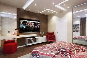 Zimmer Farbig Gestalten : kleines schlafzimmer modern gestalten designer l sungen ~ Markanthonyermac.com Haus und Dekorationen