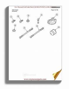 Cub Cadet Parts Manual For Model 7530 Tractor