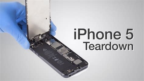 how to take apart an iphone 5 iphone 5 teardown step by step complete disassembly 20355
