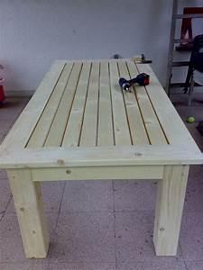 Gartentisch Selber Bauen Holz : terassentisch aus massiver fichte bauanleitung zum selber ~ Watch28wear.com Haus und Dekorationen