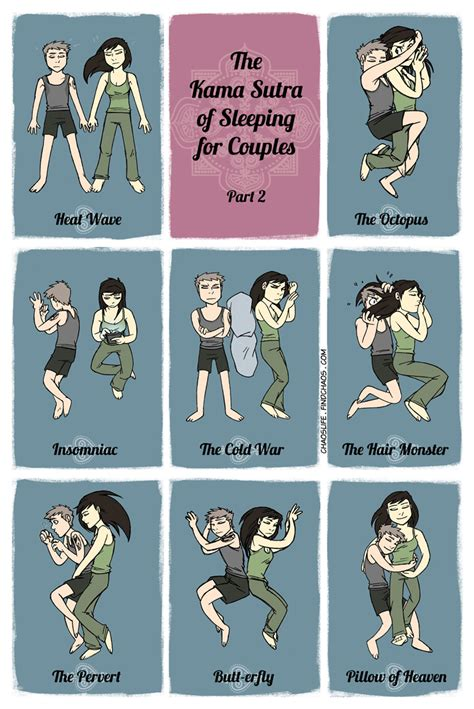 Couples Sleeping Meme - chaoslife the kama sutra of sleep part 2