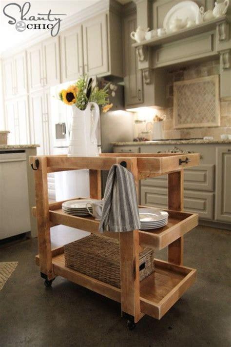 diy rolling storage cart diy furniture plans furniture