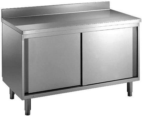 meuble bas cuisine porte coulissante cuisinepro fr meuble inox professionnel porte