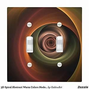 3d, Spiral, Abstract, Warm, Colors, Modern, Fractal, Art, Light