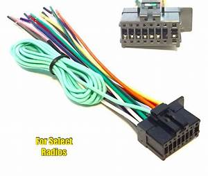 Car Stereo Radio Wire Harness Plug For Pioneer Sph