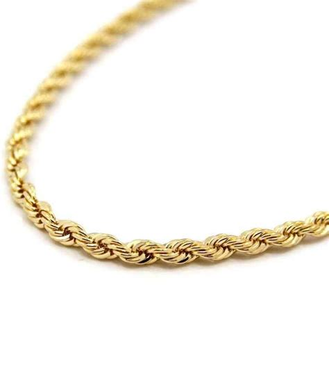 9Ct Gold Necklace Mens