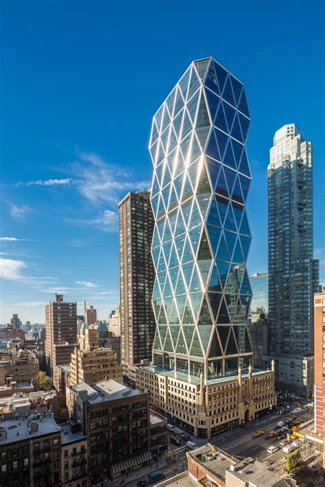 Hearst Tower New York Building Earchitect