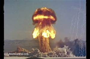 HD footage of various nuclear tests.