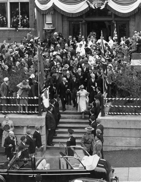George VI, visit to Toronto, 22 May 1939, at Christie