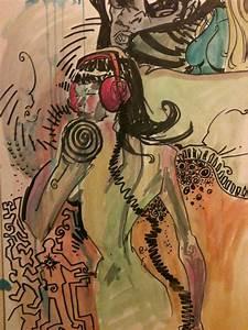Live Art DJ Girl by feeesh on DeviantArt