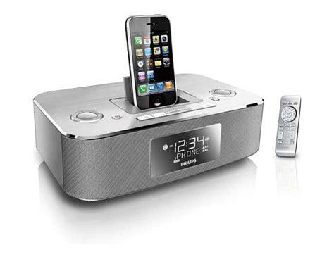 iphone clock radio philips dc290 37 30 pin ipod iphone alarm clock speaker