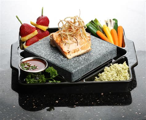 lava rock cooking hana zen at pier 39 in san francisco introduces rock 3683