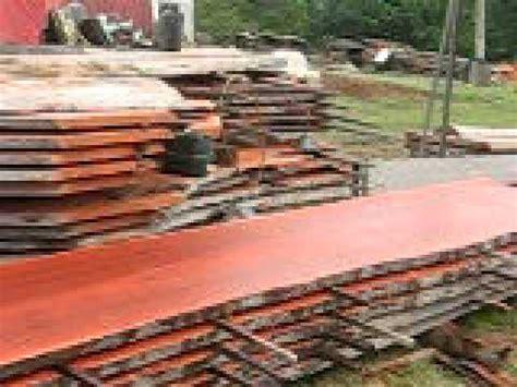 australian timber naturally milling log  timber slabs