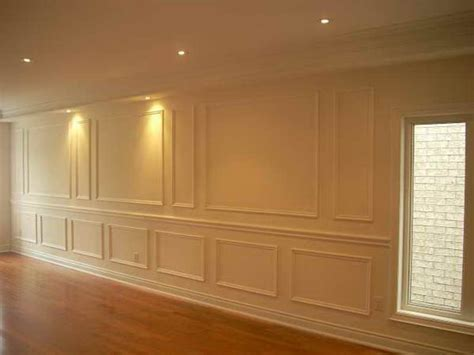 Wainscoting Frames For Wall by How To Repair Appliques Wall Panel Molding How To
