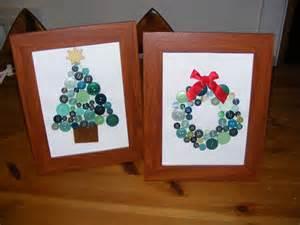 homeschool escapade button craft christmas