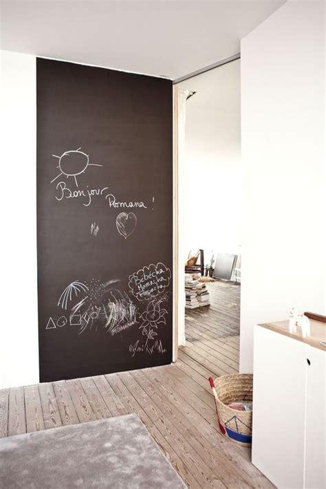 peinture dans une chambre tableau noir et peinture ardoise dans une chambre d 39 enfant