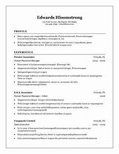 what is the best template for a resume - 30 basic resume templates
