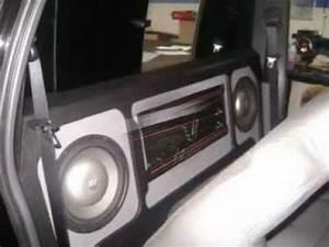 S10 Preta Cabine Dupla Com Som Personalizado Pela Kiko