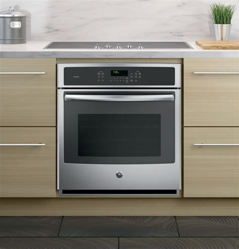 pksfss ge profile series  built  single convection wall oven stainless steel