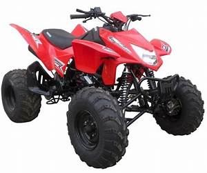 Tornado 250cc Sport Atv Air Cooled 4 Stroke Four Wheeler