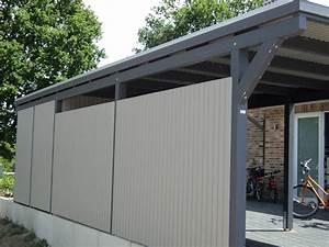 Holzbalken Für Carport : carport mit holz verkleiden ~ Articles-book.com Haus und Dekorationen