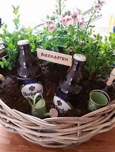 Geschenk Für Gastgeber : mini biergarten geschenk f r m nner geschenke schenken verschenken blumen pflanze bier ~ Sanjose-hotels-ca.com Haus und Dekorationen