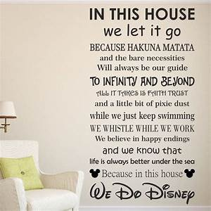 Wall decal inspirational disney sayings wall decals for Inspirational disney sayings wall decals