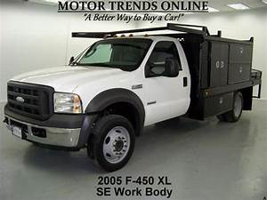 Buy Used 2005 Ford F450 Xl Drw Diesel Scelzi Se Work Body