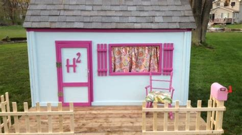 build  simple playhouse front wall  door ana white