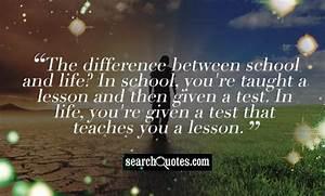 School Farewell... School Search Quotes