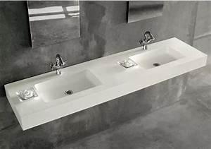 Plan Suspendu Pour Vasque : plan de vasque suspendu montpellier w20 carrelage design ~ Teatrodelosmanantiales.com Idées de Décoration