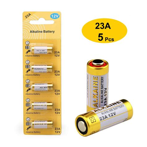 battery alkaline 12v 23a a23 batteries pack licb paquete amazon alcalina shopee box 27a bateria holder rated customer health 5pcs