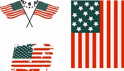 Flag American Silhouette Graphic Clip Clipart Transparent