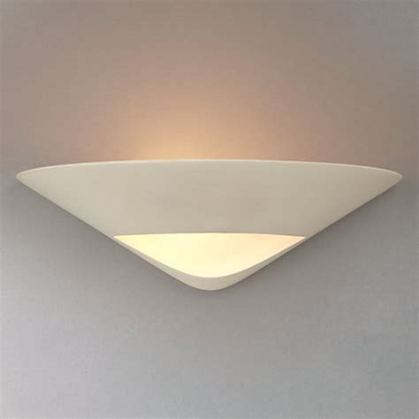 buy lewis tessa uplighter wall light white lewis