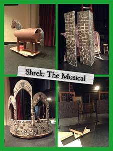 Shrek: The Musical Set Design Building by CarterShand on