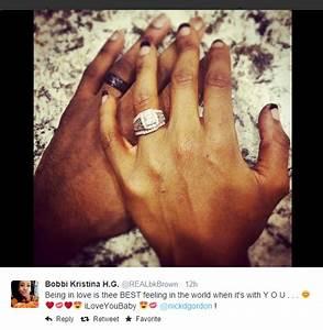 whitney houston39s loved up daughter bobbi kristina likens With whitney houston wedding ring