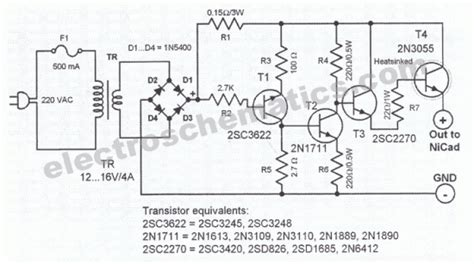 Nicd Battery Charger Circuit