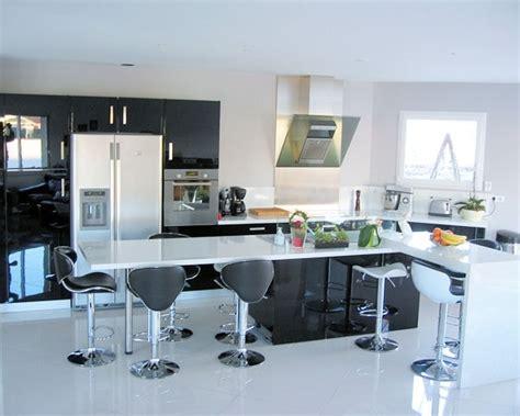 belles cuisines contemporaines les plus belles cuisines equipees maison design bahbe com