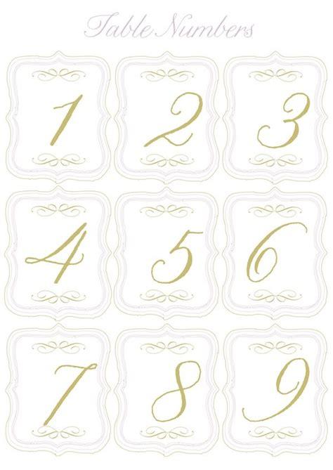 printable table numbers  mini flags  pump