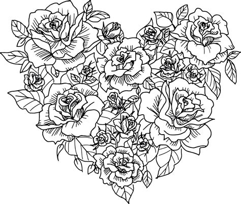 hearts coloring pages  adults  coloring pages  kids